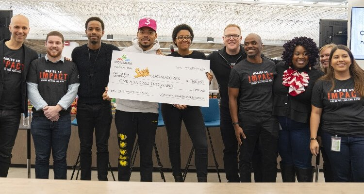 Conagra Brands Donates to Chance The Rapper's SocialWorks